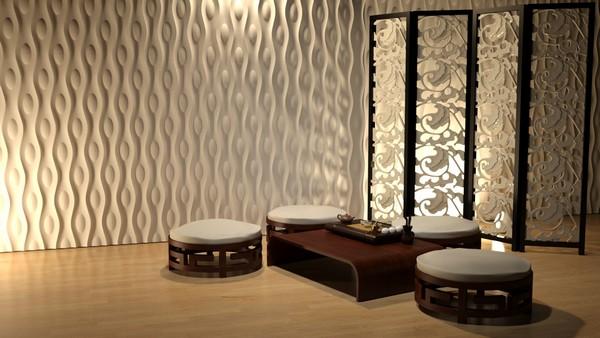 Трехмерные панели для стен