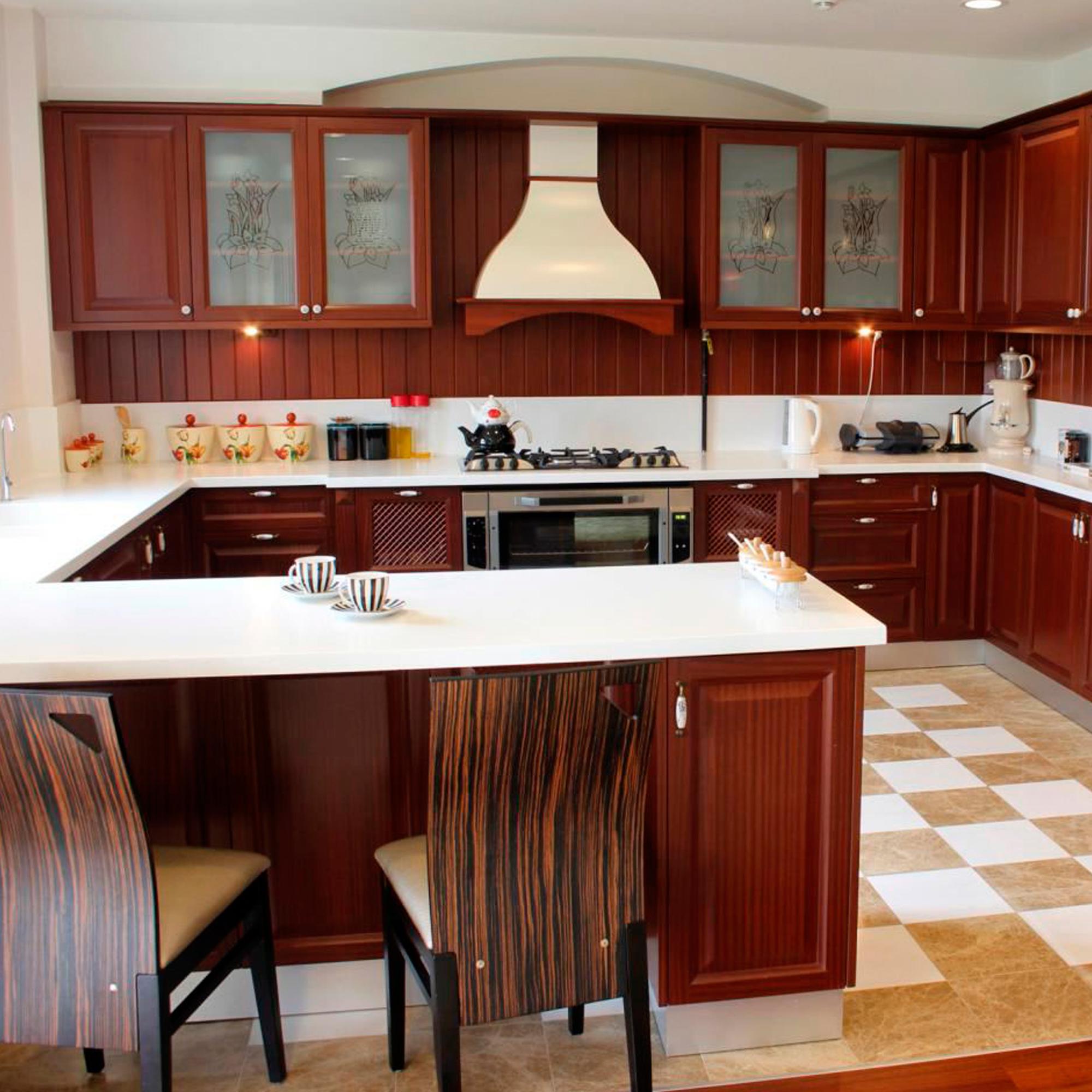 G-образное расположение кухни