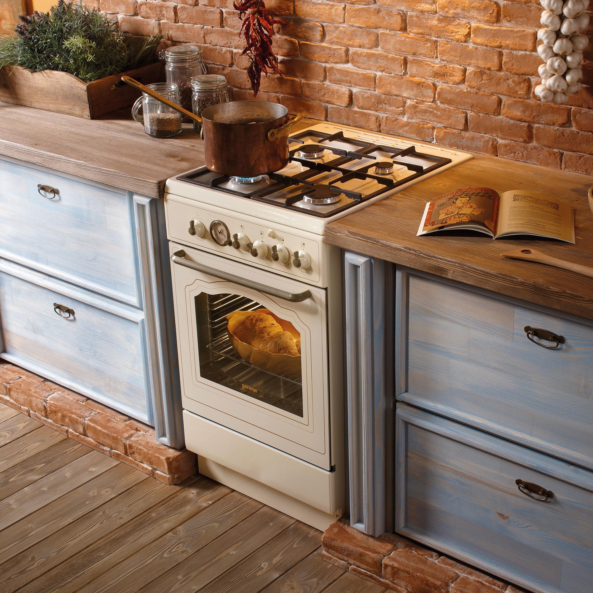 Расположение плиты на кухне